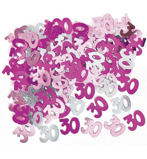 Deko Konfetti Geburtstag In Pink 3 5 X 1 5 Cm