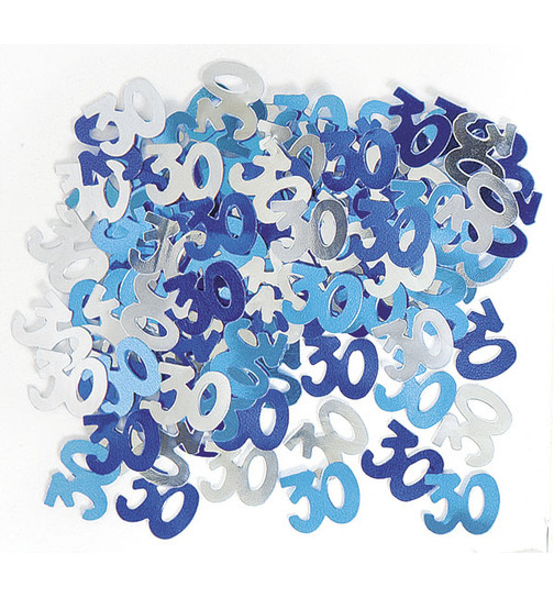 deko konfetti geburtstag in blau 3 5 x 1 5 cm. Black Bedroom Furniture Sets. Home Design Ideas